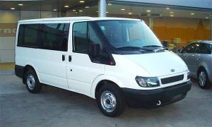 Bola enganche remolque Ford Transit +04/00