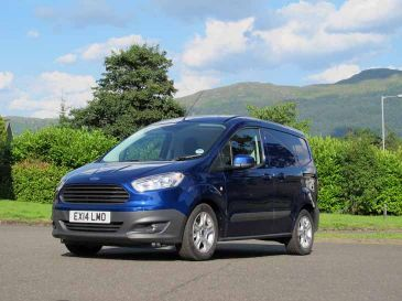 Bola enganche remolque Ford Transit Courier +14